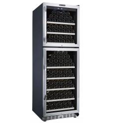 Vinoteca de conservación para 165 botellas La Sommeliere MZ2V165